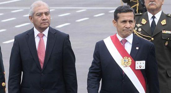 ANIVERSARIO DE LA POLICIA NACIONAL DEL PERU, DONDE ASISTIO EL PRESIDENTE DE LA REPUBLICA, OLLANTA HUMALA, EL MINISTRO DEL INTERIOR, WILFREDO PEDRAZA, Y EL JEFE DE LA POLICIA EL GENERAL RAUL SALAZAR.