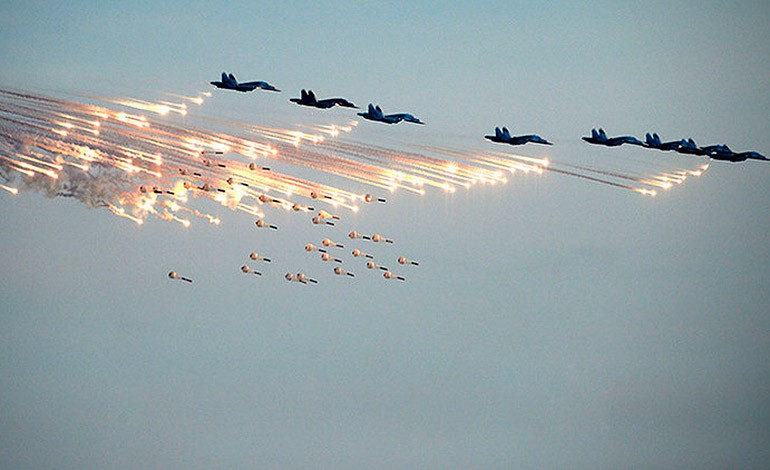 Resultado de imagen para ataques aereos rusos en siria